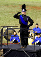 10/19/2013 Moanalua High School Menehune Marching Band and Color Guard