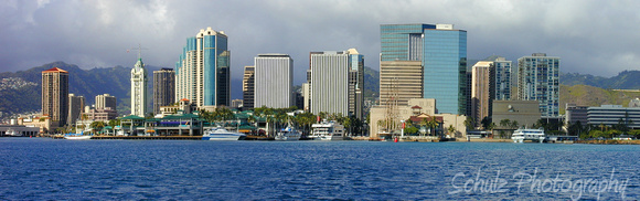 Honolulu, the Financial District